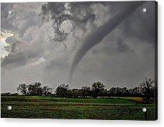 Oklahoma Swirl Acrylic Print