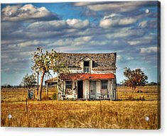 Acrylic Print featuring the photograph Old Home by Savannah Gibbs