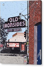 Old Ironsides Acrylic Print by Paul Guyer