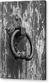 Old Knocker Acrylic Print
