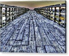 Old Pitt St Bridge Acrylic Print