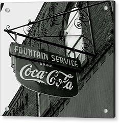 Old Sign Acrylic Print