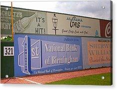 Old Time Baseball Field Acrylic Print by Frank Romeo