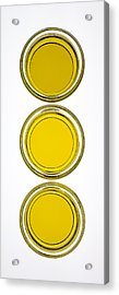 Olive Oil Acrylic Print by Frank Tschakert