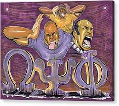 Omega Psi Phi II Acrylic Print