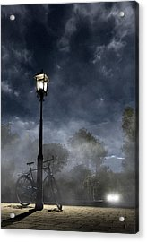 Ominous Avenue Acrylic Print by Cynthia Decker