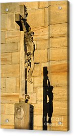 On The Cross Acrylic Print by Colin Woods