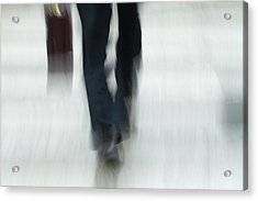 On The Go Acrylic Print by Karol Livote