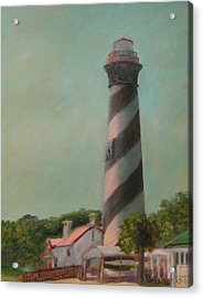 One Day At The St. Augustine Lighthouse Acrylic Print