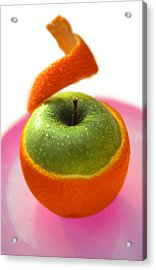 Acrylic Print featuring the photograph Oranple by Richard Piper