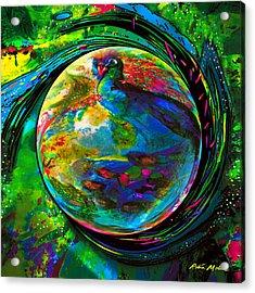 Orb Of Pavone Acrylic Print