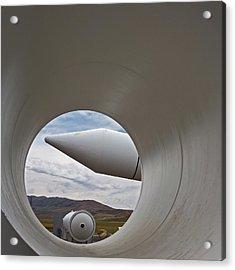 Orbital Atk Rocket Test Facility Acrylic Print