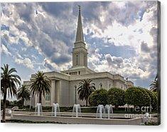 Orlando Temple Acrylic Print
