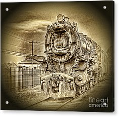 Out Of The Past Acrylic Print by Arnie Goldstein