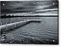 Acrylic Print featuring the photograph Overcast by Greg Jackson
