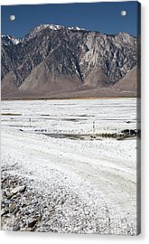 Owens Lake Re-irrigation Acrylic Print by Jim West