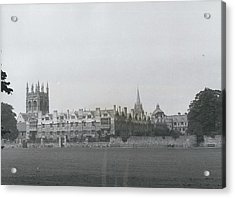 Oxford University, England Acrylic Print by Retro Images Archive