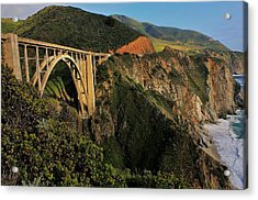 Pacific Coast Highway Acrylic Print by Benjamin Yeager