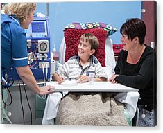 Paediatric Dialysis Department Acrylic Print by Life In View