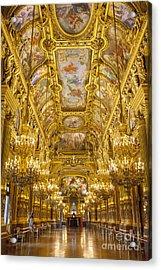 Palais Garnier Interior Acrylic Print by Brian Jannsen
