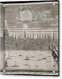 Panorama Of London Acrylic Print