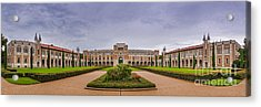 Panorama Of Rice University Academic Quad - Houston Texas Acrylic Print
