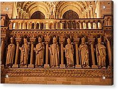 Paris France - Notre Dame De Paris - 01135 Acrylic Print by DC Photographer