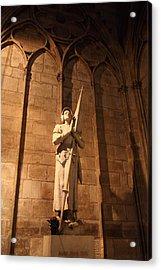 Paris France - Notre Dame De Paris - 01137 Acrylic Print