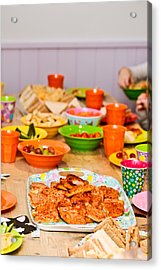 Party Food Acrylic Print