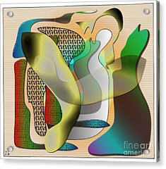 Patches Acrylic Print by Iris Gelbart