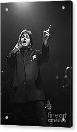 Paul Mccartney Acrylic Print by Concert Photos