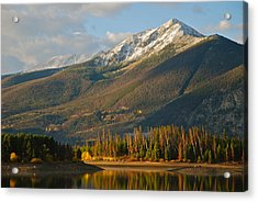 Peak One Acrylic Print by Bob Berwyn