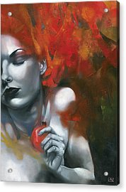 Persephone Acrylic Print by Patricia Ariel