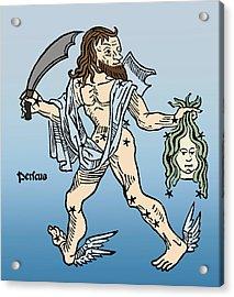 Perseus Constellation Acrylic Print