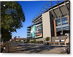 Philadelphia Eagles - Lincoln Financial Field Acrylic Print by Frank Romeo