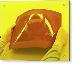 Photonics Polymer Acrylic Print by Ibm Research