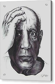 Picasso Acrylic Print by Guillaume Bruno