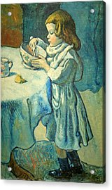 Picasso's Le Gourmet Acrylic Print