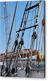 Acrylic Print featuring the photograph Pirate Ship  by Ramona Whiteaker