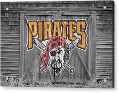 Pittsburgh Pirates Acrylic Print by Joe Hamilton