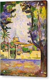 Place Des Lices St Tropez Acrylic Print