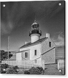 Point Loma Lighthouse Acrylic Print by Hugh Smith