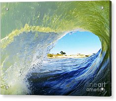 Point Of View Acrylic Print by Paul Topp