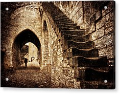 Acrylic Print featuring the photograph Pont Valentre / Cahors by Barry O Carroll