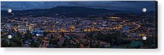 Acrylic Print featuring the photograph Pontevedra Panorama From A Caeira by Pablo Avanzini
