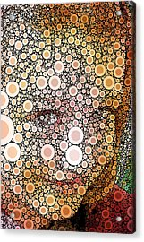 Pop-naomi-01 Acrylic Print by RochVanh