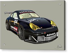 Porsche 996 Gt3 Rsr Acrylic Print