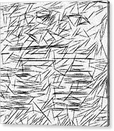 Postmodern Abstraction Acrylic Print