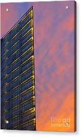 Potsdamerplatz Berlin Acrylic Print by Colin Woods