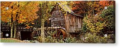 Power Station In A Forest, Glade Creek Acrylic Print